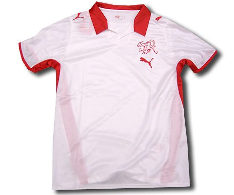 Switzerland away shirt 2008-09 junior