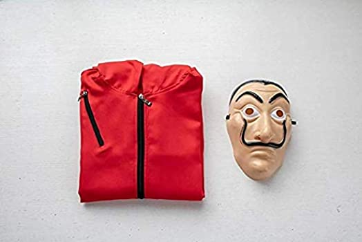 Riou Kit de La Casa De Papel, Disfraz de Ladrón, Salvador Dalí ...