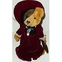 "1 X 12"" 1910's Gabrielle Brass Button Bear Plush"