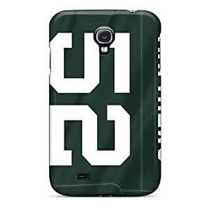 Best Hard Phone Cases For Samsung Galaxy S4 With Unique Design Colorful Green Bay Packers Pattern AshleySimms