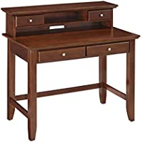 Home Styles Model  5529-162 Cherry Finish Chesapeake Student Desk and Hutch