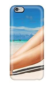 6400561K60045045 Hot Design Premium Tpu Case Cover Iphone 6 Plus Protection Case(beach Hottie)