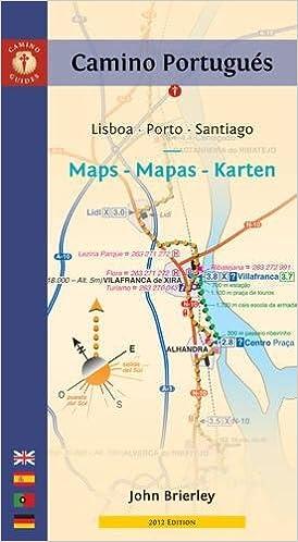 Camino Portugues Karte.Camino Portugués Maps Mapas Karten Lisboa Porto Santiago