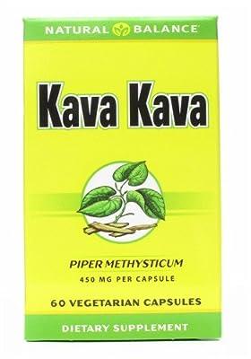 Natural Balance Kava Kava Root, 60 Vcap