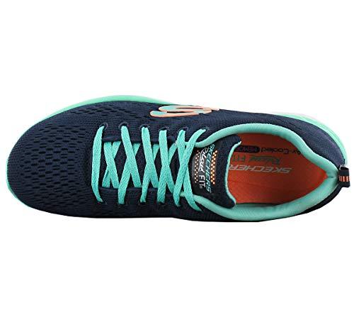 Chaussures de Running Valeris Pass Compétition Skechers Back Marine Femme Stage qwUBIYYPxX
