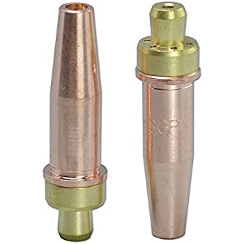 2pcs Propane Natural Gas Cutting Tip 3-GPN Size 1 Fit Victor Oxyfuel Torch