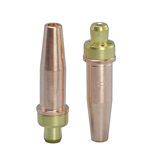 Propane Tip - 2pcs Propane/Natural Gas Cutting Tip 3-GPN Size 1 Fit Victor Oxyfuel Torch