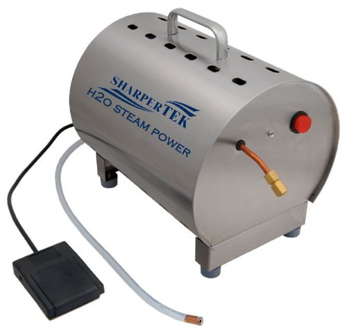 SharperTek Professional H2O Jewelry Steam Cleaner