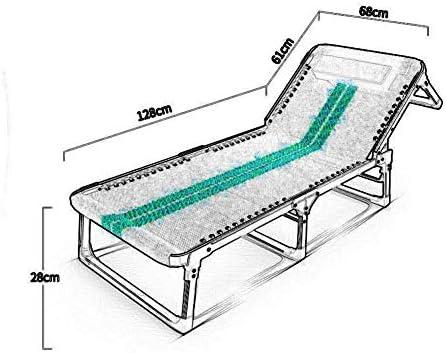 QTQZDD Reposapiés Tumbonas Tumbona Sillón reclinable Tumbona Ajustable Tumbona Tumbona Silla Jardín Muebles de Exterior Estabilidad Fuerte (Color: T3): Amazon.es: Hogar