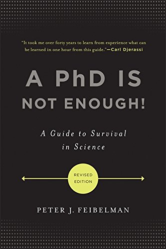 Pdf Teaching A PhD Is Not Enough!: A Guide to Survival in Science