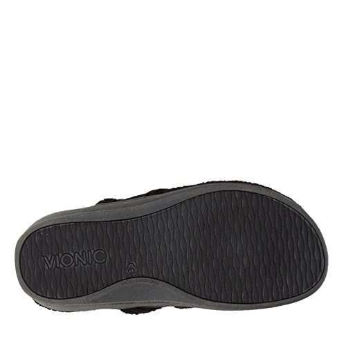 Vionic Bliss - Dames Orthopedische Slipper Sandalen Zwart