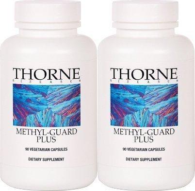 Thorne Research - Methyl-Guard Plus - 90 Vegetarian Capsules - 2 Pack (Guard Research Thorne Methyl)