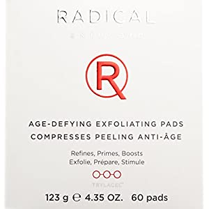 Radical Skincare Age Defying Exfoliating Pads, 4.35 Oz.