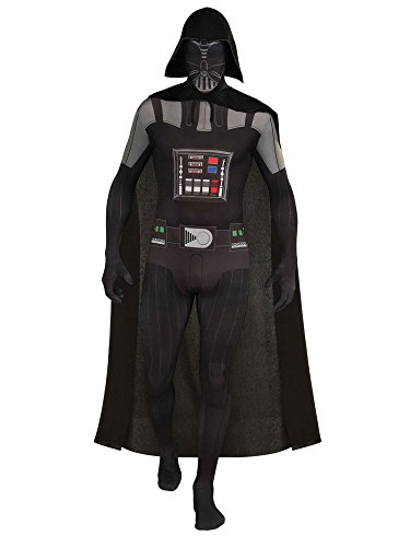 Rubie's Men's Star Wars 2nd Skin, Darth Vader, Large -
