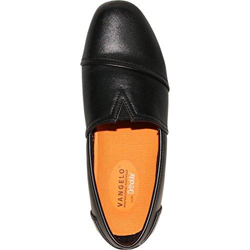 VANGELO Professional Slip Resistant Women Work Shoe Isana Black by VANGELO (Image #6)