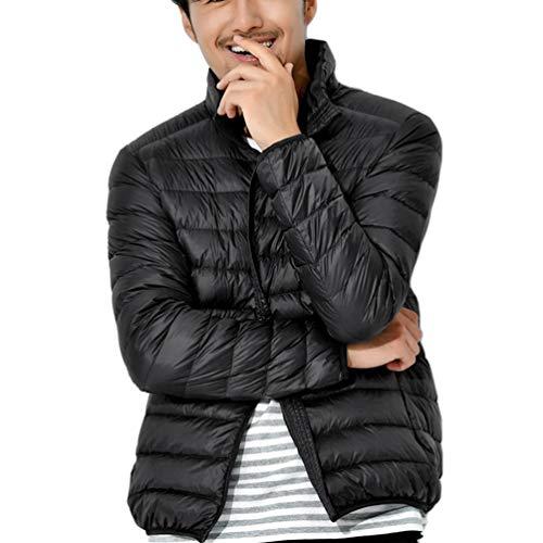 02 Tookang Inverno Cappotto Nero Giacca Piumino Da Uomo Elegante Giubbotto Giacche Di PT6Pw