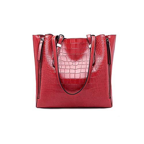 Para Mochila Audburn Viaje Bandolera Mujer Rojo Bolso Moda Mensajero Mujer De Casual Ligera qAq5F