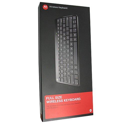Genuine Motorola Bluetooth Wireless Keyboard for Motorola ATRIX 4G and Motorola XOOM in Retail Packaging