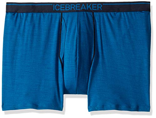 Icebreaker Merino Mens Anatomica Boxers with Fly