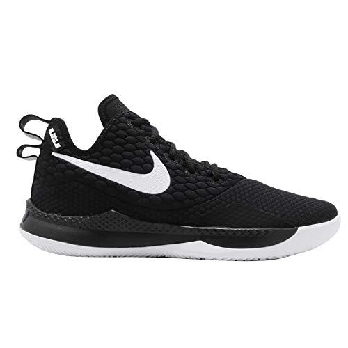 Nike Men's Lebron Witness III EP, Black/White, 10 M US