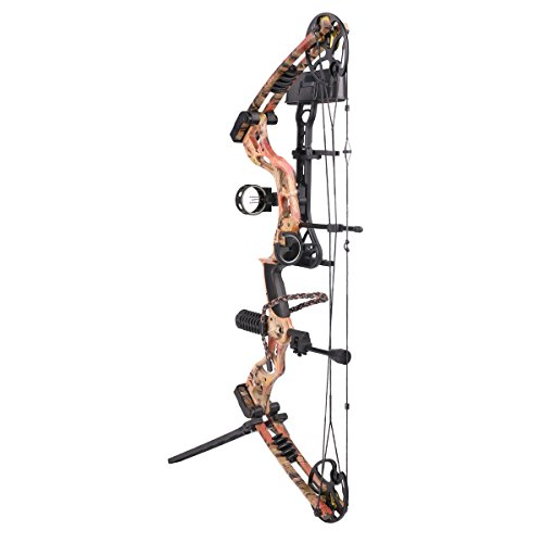"""Leader Accessories Compound Bow 50-70lbs 25"""" - 31"""" Archery Hunting Equipment with Max Speed 310fps, right handed"""