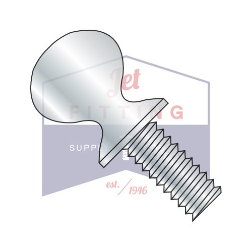 1/2-13X2 Thumb Screws | Type P | Shoulder | Steel | Zinc (QUANTITY: 250) by Jet Fitting & Supply Corp