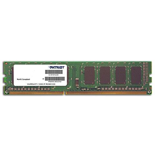 Patriot Signature 1GB DDR3 1333MHz (PC3-10600) 240 Pin Dual Inline Memory Module