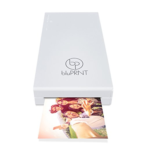 Smart Start Story Tablet - bluPRNT Instant Portable Printer for Smartphone Social Media Photos with WiFi & NFC, Compatible with Android ONLY - White