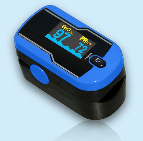 Oxi Go Sports Aviation Finger Unit Oximeter
