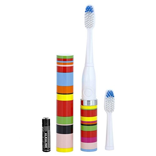 VioLife Slim Sonic Toothbrush - Candy Stripe