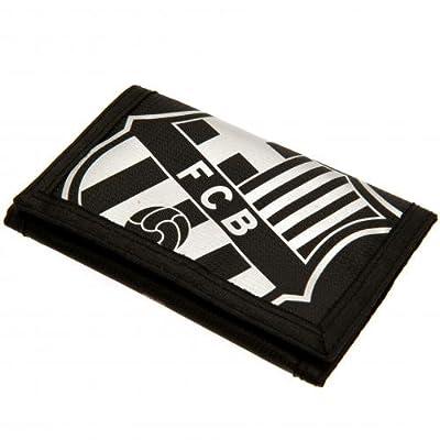 FC Barcelona Black Nylon Wallet