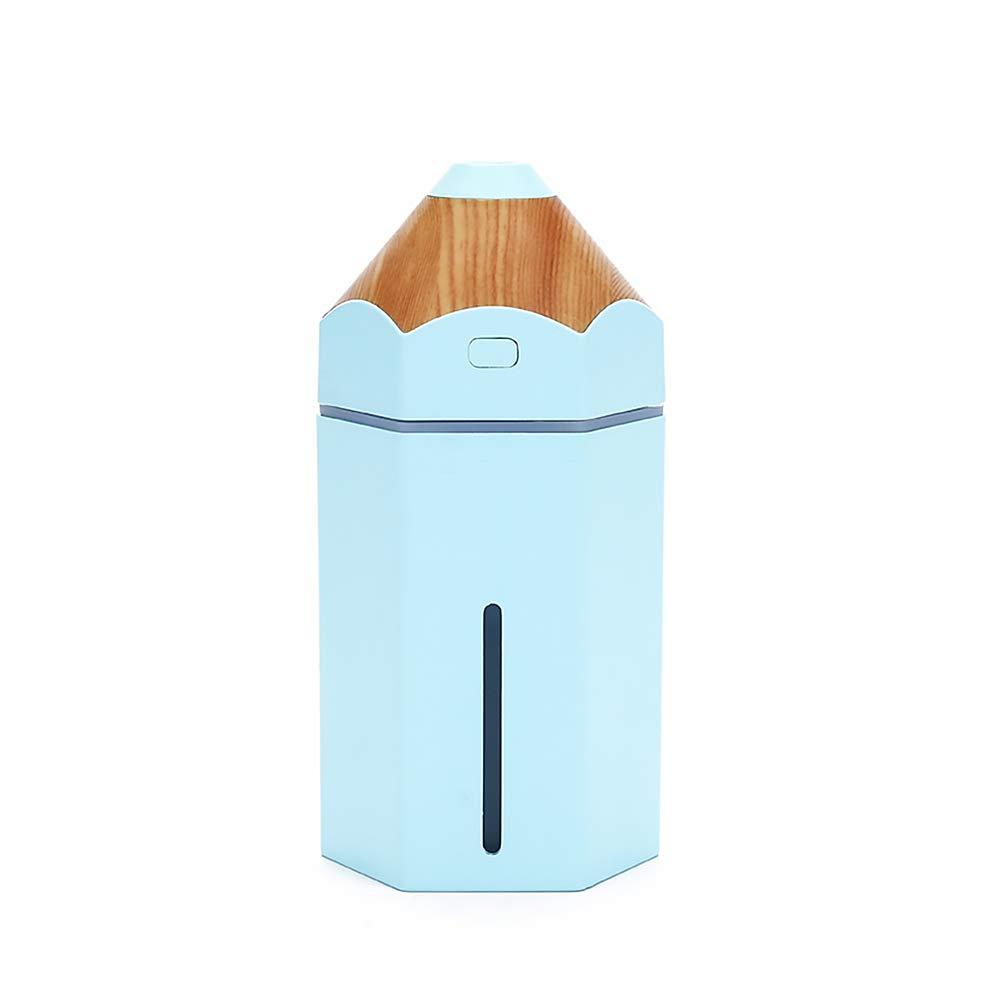 Beito 1PC L/ápiz humidificador Amarillo 230 ml de Ministerio del Interior Mini USB de Vapor fr/ío LED difusor del purificador