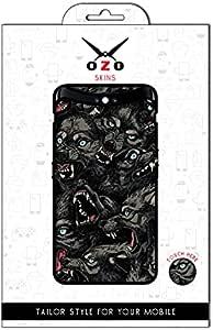 لاصقة حماية من اوزو بشكل الذئاب لموبايل Samsung Galaxy A30