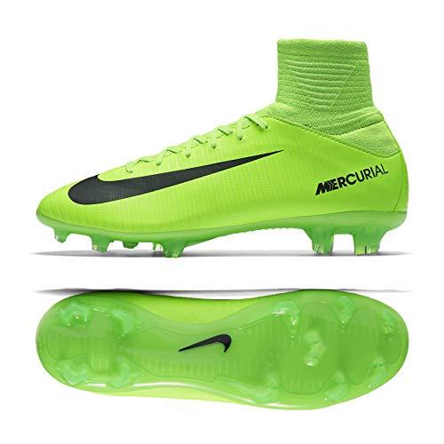 f0b00a36a Nike Kids Jr. Mercurial Superfly V FG Soccer Cleat (Sz. 5.5Y) Electric Green