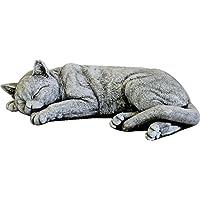 DEGARDEN Figura de Gato Decorativa para Jardín o