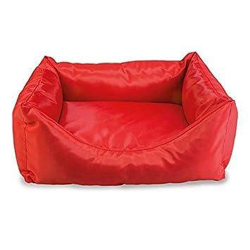 Arquivet 8435117884038 - Cama Cuadrada Impermeable, Rojo 50 x 45 x 17 cm: Amazon.es: Productos para mascotas