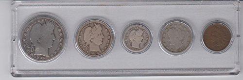 Nickel Indian Coin Set - 4