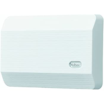 Nutone La11wh Decorative Wired Two Note Door Chime White