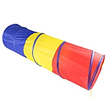Folding Play Tunnel for Kids Baby Children Popup Tube Playtent Playhouse Indoor Outdoor by Dream's Story
