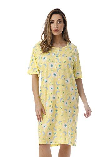 - 4360-O-10061-2X Just Love Short Sleeve Nightgown / Sleep Dress for Women / Sleepwear,Celestial Glow,2X Plus