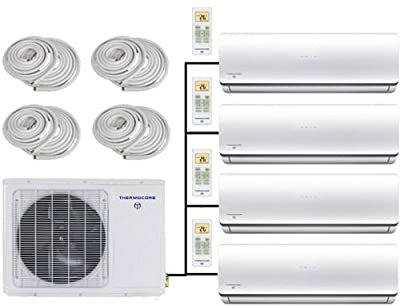 Thermocore Systems Quad-Zone ENERGY STAR Ductless Mini Split Heat Pump Air Conditioner