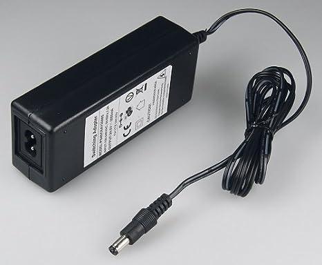 UNIVERSAL Schaltnetzteil 12V 4000mA 4A Netzteil mit LED 2,1mm Stecker Adapter