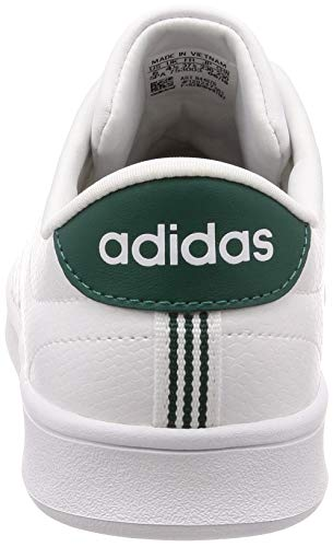 White adidas White Sneaker Weiß Noble Green Clean QT Footwear Advantage Footwear Damen 0 wFnTq0A
