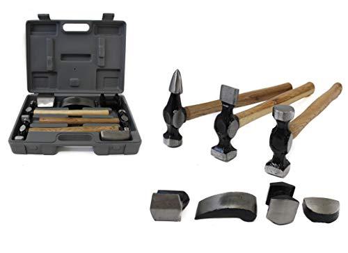 (Premium Auto Body Hammer Set, 7 Pc.)