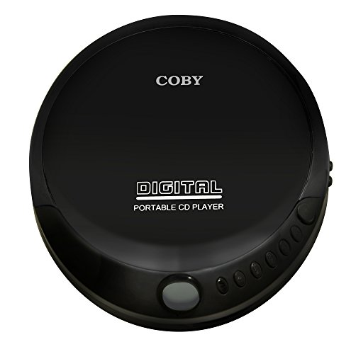Coby Portable Compact CD Player (Black)