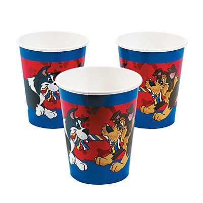 Puppy Party Cups 2 units