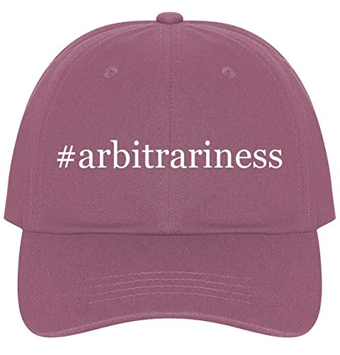 The Town Butler #Arbitrariness - A Nice Comfortable Adjustable Hashtag Dad Hat Cap, Pink, One Size ()