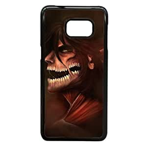 Samsung Galaxy Note 5 Edge case , Attack On Titan Samsung Galaxy Note 5 Edge Cell phone case Black-YYTFG-20090