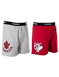 Mens Canada Boxer Shorts (2-Pack)