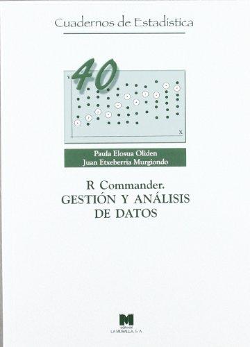 Descargar Libro R Commander. Gestión Y Análisis De Datos Paula Elosua Oliden